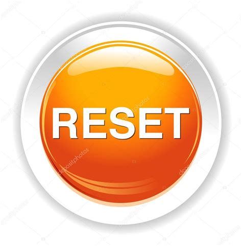 reset button icon stock vector  sarahdesign