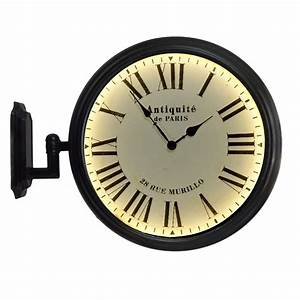 Train station style wall clock for Train station style wall clock