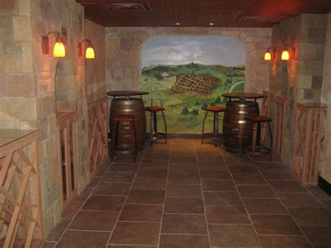 Unused Basement Becomes Stunning Wine Cellar Building