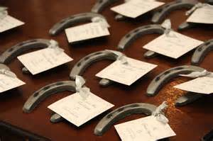 horseshoe wedding favors mlc designswedding archives mlc designs