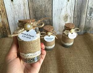 rustic wedding favors lavender filled burlap and lace With rustic wedding shower favors