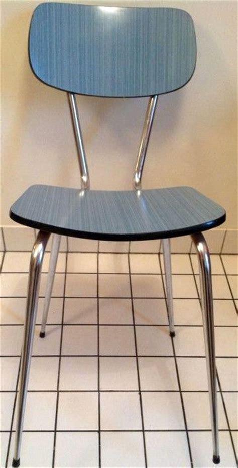 chaise de cuisine formica bleu 233 es 50 60 cuisine vintage cuisine motifs