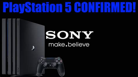 sony actually confirms the playstation 5