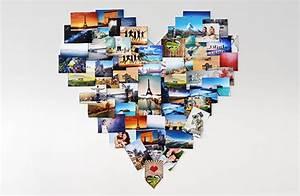 Fotos Als Collage : das fotoherz collage aus vielen einzelnen fotos f r die wand ifolor ~ Markanthonyermac.com Haus und Dekorationen