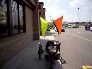 Safety Flags For Tadpole Trikes