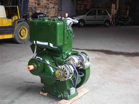 Lister Type Slow Speed Diesel Engine