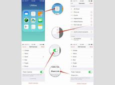 How to share or make iCloud calendars public on iPhone and