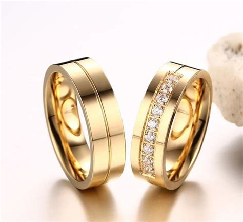 21 best wedding rings couple gold plated ring by menjewell com images pinterest couples