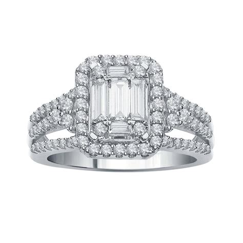 Diamond Bridal Set 14k White Gold (1 Ct Tw)  Little. Lace Rings. Dwarven Rings. Alternative Style Engagement Rings. Resin Engagement Rings. Piston Rings. Jewelry Ebay Engagement Rings. Diana Engagement Rings. Crt Wedding Rings