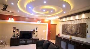 Sandeep rao39s house interior design salarpuria for Interior decoration living room roof
