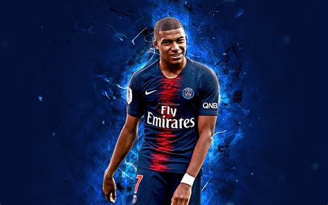wallpapers kylian mbappe  french footballer