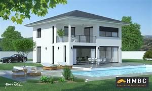 edwige 111 toit plan maison de 111m2 bbc edwige toit With plan de belle maison 2 maison neuve avec piscine toit plat