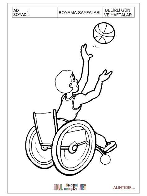 Engelliler Haftası Boyama Etkinliği Resimlere Göre Ara Red