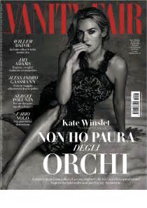 vanity fair magazine kate winslet vanity fair italy magazine november 2017