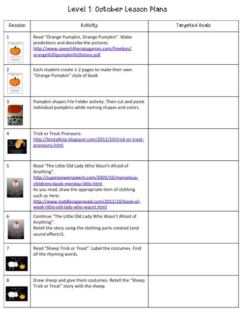 118 Best Images About Slp Lesson Plan Freebies On