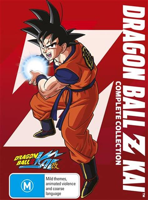 Maybe you would like to learn more about one of these? Dragon Ball Z Kai - Complete Collection Anime, Blu-ray ...