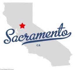 California Map Sacramento CA
