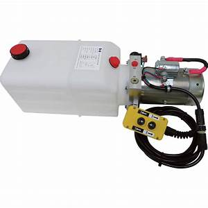 Nortrac 12 Volt Dc Hydraulic Power Unit  U2014 Single Acting