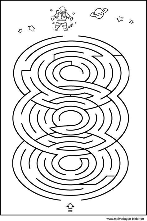 kinderraetsel labyrinth geschicklichkeitsspiel fuer kinder