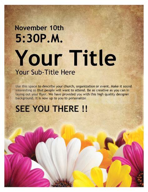 event flyer templates womens retreat church event flyer