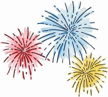 Clip Celebration Clipart Party Graphics Fireworks Firework