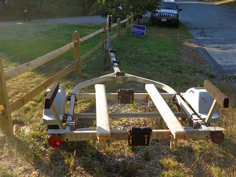 Skiff Trailer Setup by Trailer Setup For Small Skiff The Hull Boating