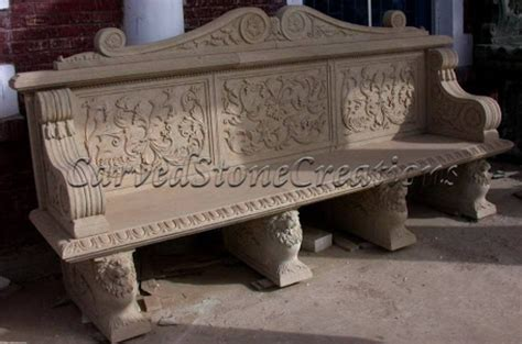 3 bench designs for your landscape carved creations