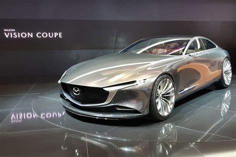 mazda vision coupe graces  geneva show