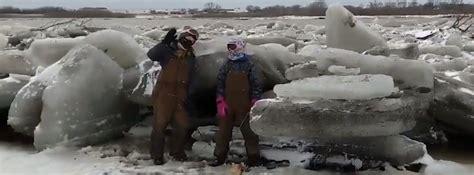 catastrophic flooding caused  rapid snowmelt  heavy