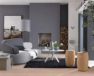 wohntipps furs wohnzimmer graue wohnzimmer schoner With markise balkon mit graue stein tapeten