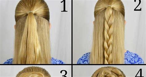 braided rose bun hairstyle tutorial style hunt world
