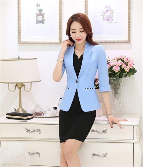 light blue suit womens light blue blazer womens fashion ql