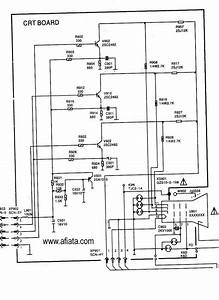 Electronic Circuit Diagram Tv Crt Board Rgb Colour Using
