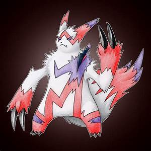 Mega Zangoose by FakeMakeT on DeviantArt