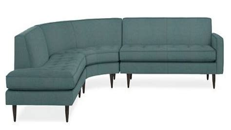 room and board leather sofa modern curved sofas vintage