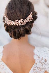Wedding Hair Accessories Gold