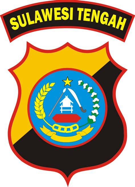 logo polda sulawesi tengah kumpulan logo indonesia