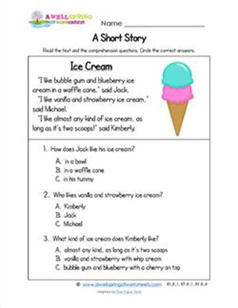 kindergarten stories a wellspring 948 | kindergarten short stories ice cream
