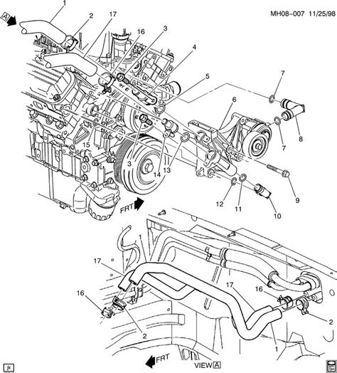 3800 Engine Vacume Line Diagram by 3 8 Buick Engine Parts Diagram Detailed Schematic Diagrams