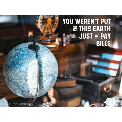 Quote Livingourbuslife Travel Wanderlust Travelquote
