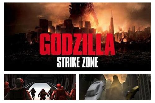 godzilla strike zone full game download