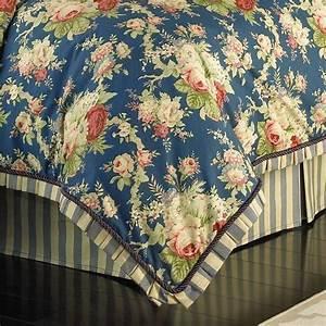 Floral, Sanctuary, Rose, Comforter, Set, King, 4pc