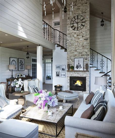comfortable family home design cottage decor in neutral