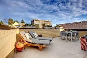 amenagez votre toit terrasse en rooftop habitatpresto With amenagement terrasse toit plat