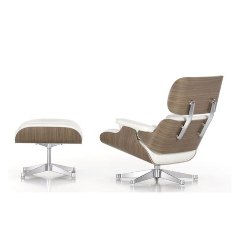 furniture witching eames white lounge chair ottoman for