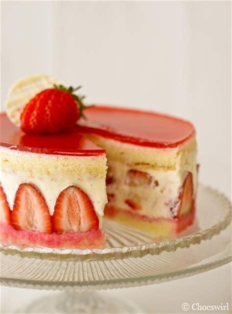 fraiser cuisine strawberry fraisier chocswirl