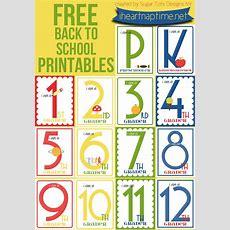 Free Back To School Printables Grades K12  Free Homeschool Deals
