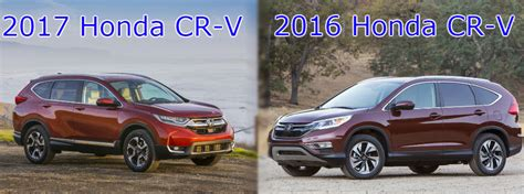 How Does The 2017 Cr-v Compare To The 2016?