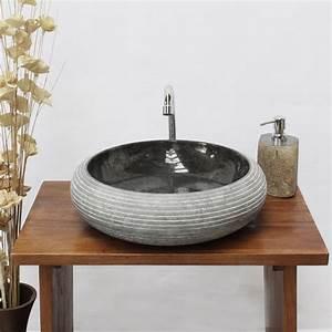 Waschbecken 40 Cm : waschbecken aus marmor aufsatzwaschbecken marmorwaschbecken handwaschbecken waschschale basin ~ Indierocktalk.com Haus und Dekorationen