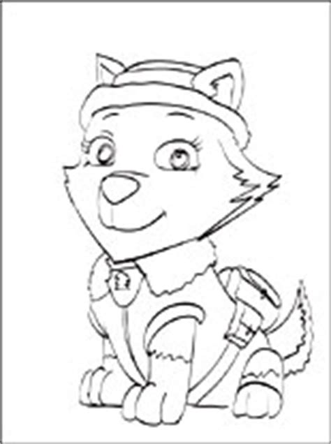 Everest PAW Patrol coloring page Coloring pages